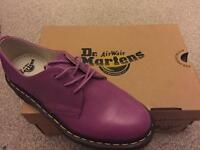 DR MARTENS LADIES SHOES IN PURPLE BRAND NEW NEVER BEEN WORN!!