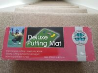 Deluxe putting mat