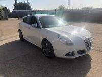 65 PLATE ALFA ROMEO 2015 GIULIETTA WHITE 1.4 CAT D 28,000 MILES ONLY