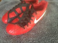 Junior Nike T90 Football Boots size 13