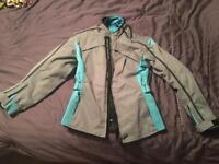 Frank Thomas Lady Rider Motorcycle Jacket Size LS