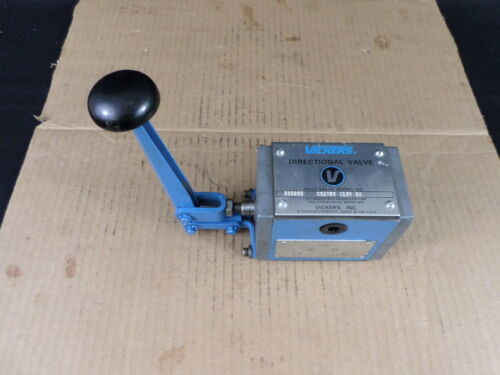 Vickers DG17S2 012N 50 Mechanical Lever Operated Directional Control Valve