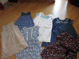 6 LOVELY DRESSES - AGE 10/12 YEAR OLD - VERY GOOD CONDITION