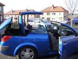 renault megane hard top convertible