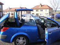 renault megane hard top convertible