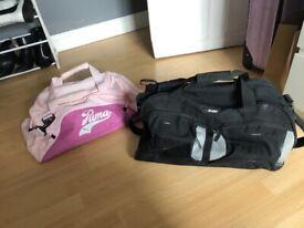 Sport gym hold-all bag bundle
