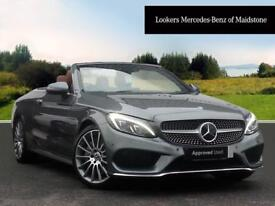 Mercedes-Benz C Class C 300 AMG LINE PREMIUM PLUS (grey) 2017-08-11