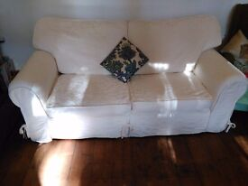 Sofa bed White great condition smoke free home