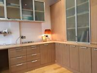 HOME OFFICE GREAT CONDITION (BEECH/PINE COLOUR)