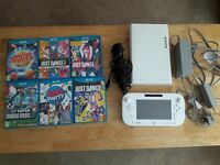 Nintendo Wii U console boxed bundle including 6 games