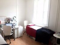 sophisticated Treatment room and desk space for free lance beautician