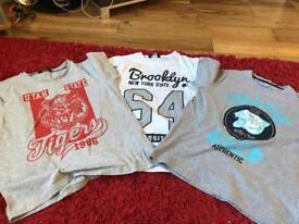 Boys tshirts 10-11