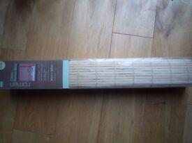 Classic Roman Light Wood Blind 60cm x 160cm