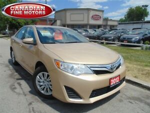 2012 Toyota Camry LOADED SUPER. COND 4CYL