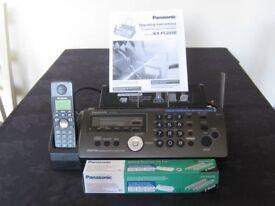 Cordless phone/fax/copier/answering machine