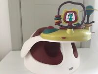 Mamas and Papas bumbo seat with activity centre