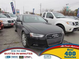 2013 Audi A4 2.0T | AWD | LEATHER | ROOF | ONE OWNER
