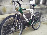 GT Arrowhead adult mountain bike - front suspension - 24 speed