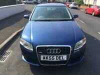 Audi A4 140 bhp S Line 6 speed in stunning blue ,DVD system,1st to view will buy ,px welcome