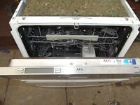 AEG integrated Dishwasher in good clean working order comes with 3 months warranty