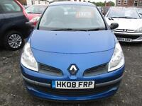 RENAULT CLIO 1.2 TCE Expression 3dr (blue) 2008