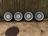 Ford Focus RS 19 alloy wheels 5x108 will fit other fords