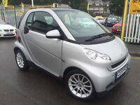 SMART FORTWO 0.8 CDI Passion 2dr Auto (silver) 2009