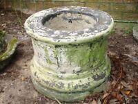 Round Column Planter