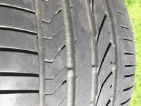 bridgestone dueler hp sport 315/35/20 run-flat tyre 6/7mm tread