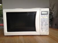 Sharp oven and microwave combination