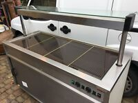 Moffat Carvery / Servery Trolley / Hot Cupboard with Gantry Lights - Mobile Unit