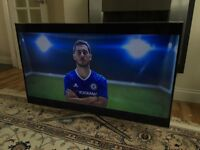 48in SAMSUNG 3D SMART LED TV - FULL HD - WIFI- VOICE CONTROL - FREEVIEW HD -400hz- WARRANTY
