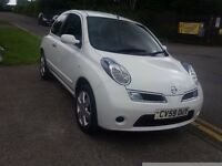 2009 Nissan Micra 1.2 Acenta only 39000m history power steering electric windows part x welcome