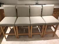 NEXT 4 x bar stools