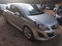 Vauxhall Corsa 1.2 i 16v SXi 3dr£3,995 p/x welcome FREE 1 YEAR WARRANTY, NEW MOT