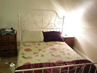 Very good condition, Double bed