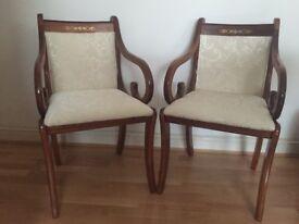 Vintage chair, reupholstered