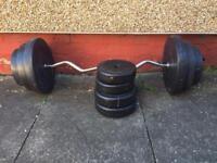 Hammertone Dumbbell set