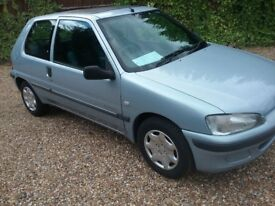 2002/52 PEUGEOT 106 INDEPENDENCE, 1.1 PETROL, SILVER