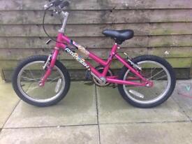 Girls bike 4-6years