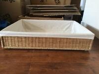 Under bed storage boxes - wood