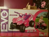 Eletric child's quad bike brand new in box