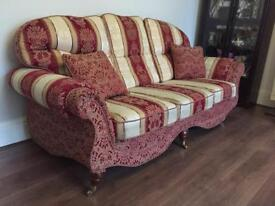 2x 3 seaters 2x 1 seater sofas new nearly