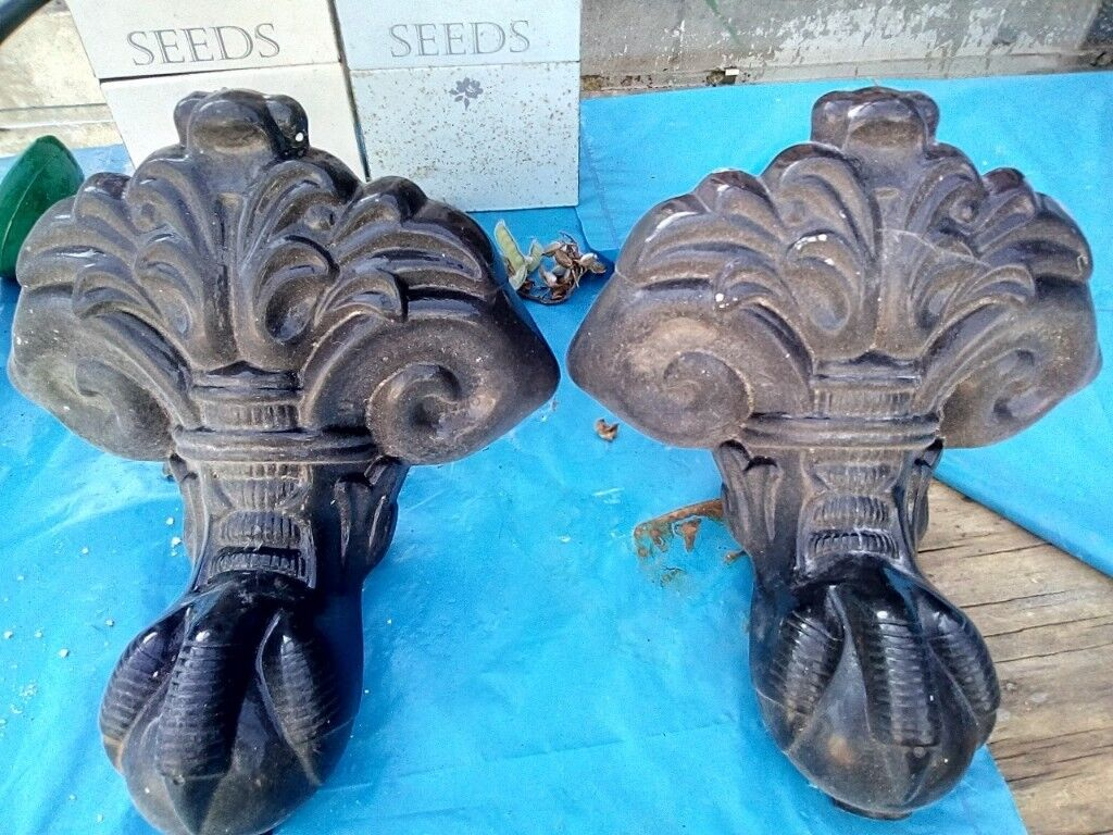 SET OF FOUR CAST IRON FEET | in Westhoughton, Manchester | Gumtree