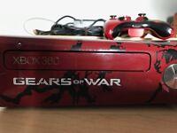 Xbox 360 elite slim (gears of war limited edition)