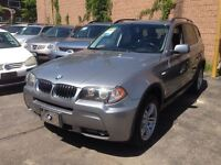 2006 BMW X3 3.0i Panoramic Roof Package