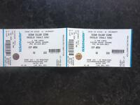 TWO VIP OCEAN COLOUR SCENE TICKETS