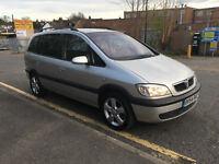 VAUXHALL ZAFIRA 1.6 ENERGY IN EXCELLENT CONDITION 7 SEATER 54 PLATE 1.8