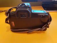Canon 1000F Film Camera and Sigma Lens