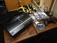 PS3 console game bundle gta5,bo3